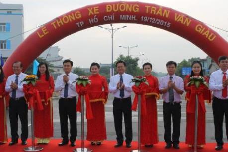 Tp. Hồ Chí Minh đưa vào khai thác tuyến đường Trần Văn Giàu