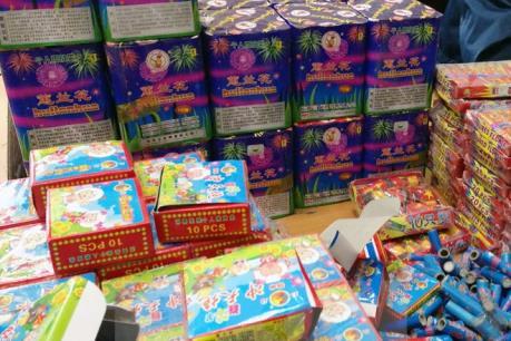 Quảng Ninh: Bắt vụ vận chuyển trái phép 40 kg pháo nổ