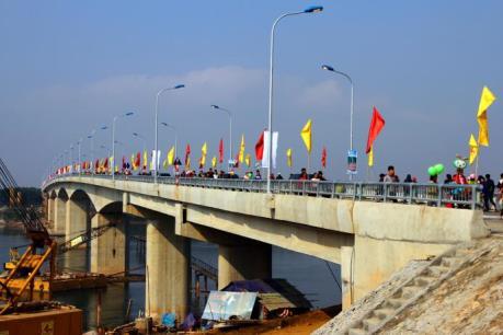 Khánh thành cầu Đồng Quang bắc qua sông Đà, nối Hà Nội – Phú Thọ