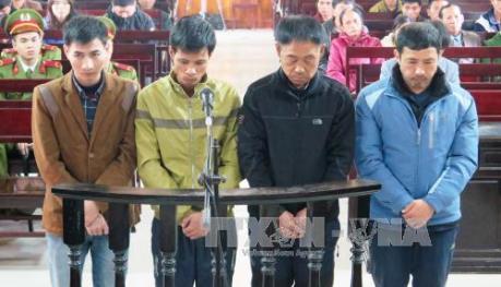 Xét xử vụ sập giàn giáo ở Hà Tĩnh: Bốn bị cáo lĩnh án 144 tháng tù giam