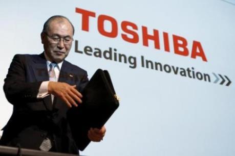 """Toshiba chuẩn bị """"thay máu"""" nhân sự"""
