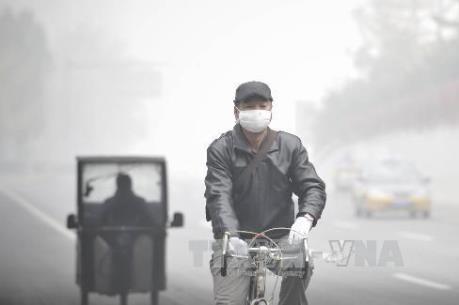 40 thành phố ở miền Bắc Trung Quốc báo động ô nhiễm không khí