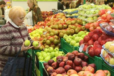 Nga cấm nhập khẩu nông sản từ Ukraine