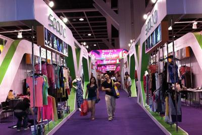 Hội chợ Thời trang 2015 hút khách từ buổi khai mạc