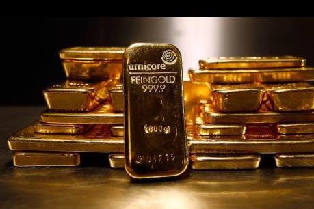 Giá vàng hướng tới mức giảm 9% trong năm 2015