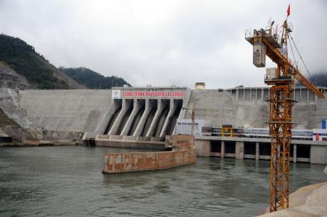 Mừng phát  điện Tổ máy 1 Thủy điện Lai Châu