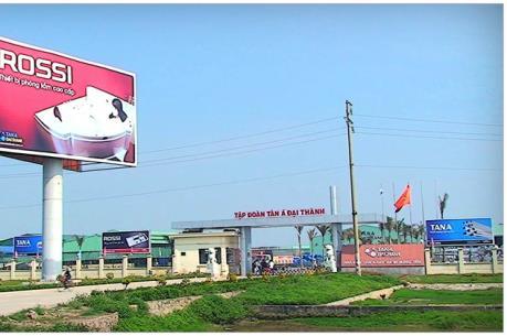 Tân Á Đại Thành đầu tư nhà máy nhựa trị giá 70 triệu USD