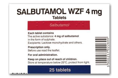 Thuốc thành phẩm chứa Salbutamol và Clenbuterol không bị dừng nhập khẩu