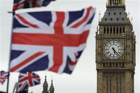 """Đà phục hồi của kinh tế Anh bị """"hụt hơi"""""""