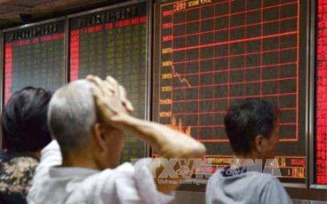 Đồng yen mạnh phủ sắc đỏ lên chứng khoán Nhật Bản