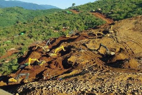 Lở đất tại Myanmar, hàng chục người mất tích