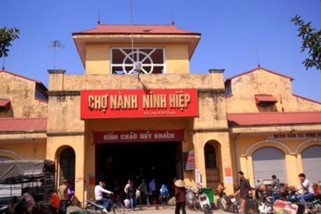 """Không """"xóa"""" chợ Ninh Hiệp để """"ép"""" tiểu thương vào Trung tâm thương mại"""
