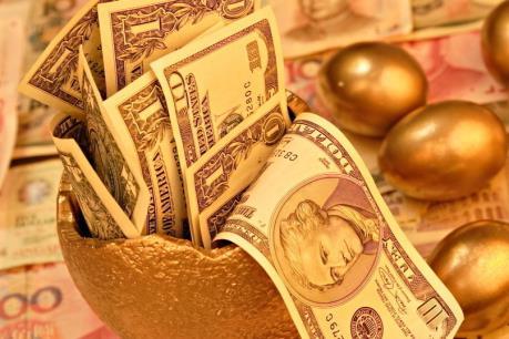 Giá vàng phiên đầu tuần giảm nhẹ