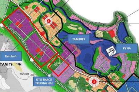 Hàn Quốc đầu tư 525 tỷ đồng xây dựng Khu Công nghiệp Tam Anh - Hàn Quốc