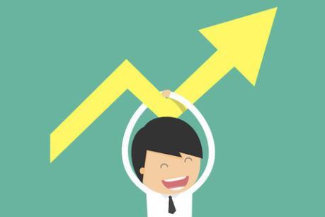 Các cổ phiếu trụ bứt phá, VN-Index tăng hơn 6 điểm