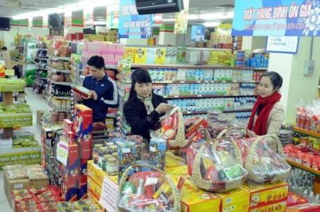 Hà Nội đảm bảo cung ứng 21.610 tỷ đồng hàng hóa phục vụ Tết 2016