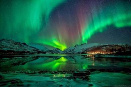 Háo hức đón chờ hiện tượng Bắc cực quang đêm giao thừa