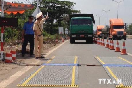 Hà Nội siết chặt xử lý xe vi phạm tải trọng