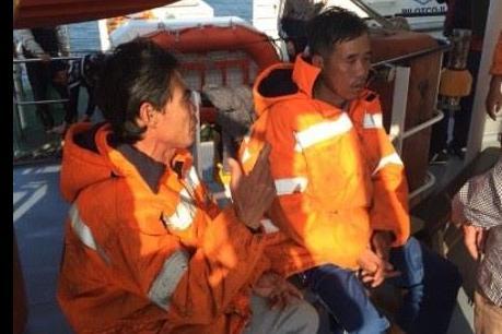 Đã tìm thấy 02 thuyền viên tàu 1800 HP mất tích