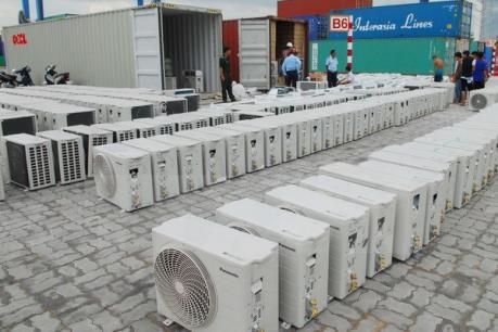 Phát hiện hàng nghìn mặt hàng điện lạnh nhập khẩu trái phép