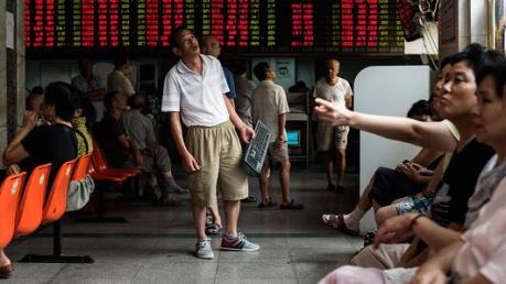 Chứng khoán Trung Quốc lại tạm ngừng giao dịch 15 phút