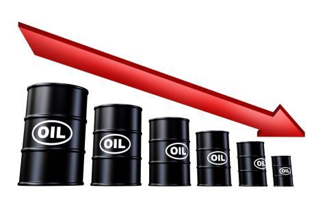 Giá dầu thế giới xuống mức thấp nhất kể từ năm 2008