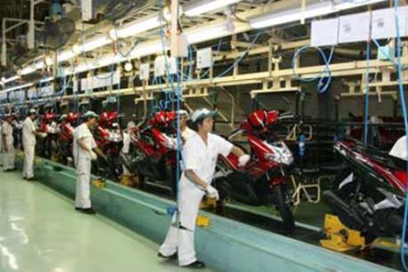 Sản xuất và tiêu thụ xe máy giảm mạnh