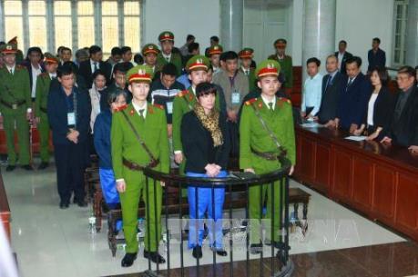 Tuyên án 18 bị cáo trong vụ án tham nhũng tại Agribank Chi nhánh Nam Hà Nội