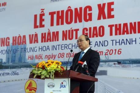 Thông xe hai hầm chui hiện đại nhất Hà Nội