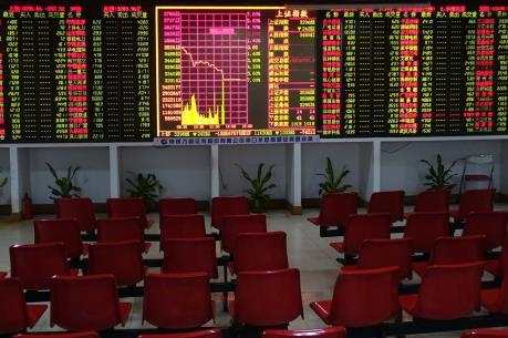 Chứng khoán Trung Quốc tăng gần 2%
