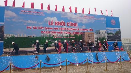 Hà Nội đầu tư gần 225 tỷ đồng mở rộng đường Lê Trọng Tấn