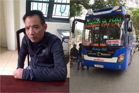 Khởi tố vụ án đánh cắp xe khách giường nằm tại Thái Bình