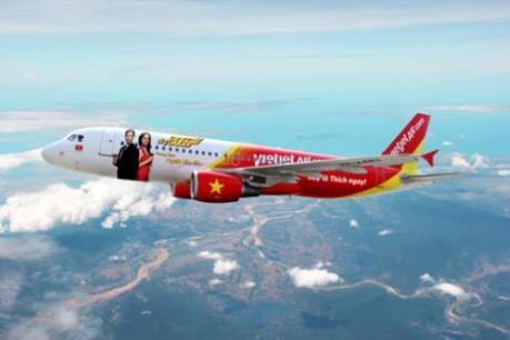 Vietjet Air khuyến mại vé 0 đồng dành cho các chặng bay quốc tế