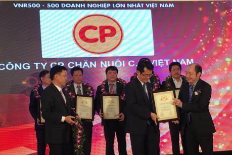Công bố Top 500 doanh nghiệp lớn nhất Việt Nam