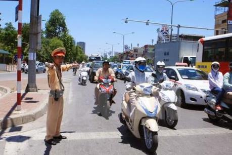 Cục CSGT mở đợt cao điểm bảo đảm trật tự, an toàn giao thông từ 16/8
