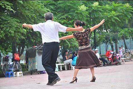 """Khiêu vũ """"thời thượng"""""""