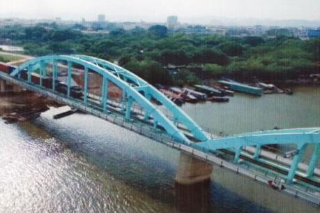 Khánh thành cầu đường sắt trên tuyến Hà Nội-TP. Hồ Chí Minh