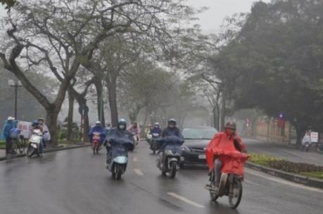 Dự báo thời tiết: Mưa rét vẫn tiếp tục khống chế thời tiết miền Bắc