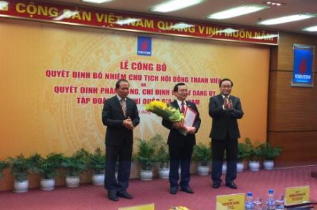Tập đoàn dầu khí Việt Nam có tân Chủ tịch hội đồng thành viên