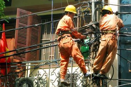 Hà Nội đảm bảo cấp điện an toàn cho Đại hội Đảng
