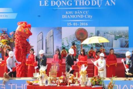 Hơn 15.000 tỷ đồng thực hiện dự án Diamond City Nguyễn Văn Linh