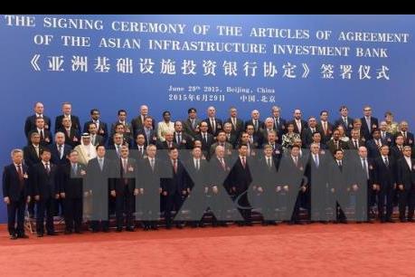 Ngân hàng AIIB chính thức khai trương
