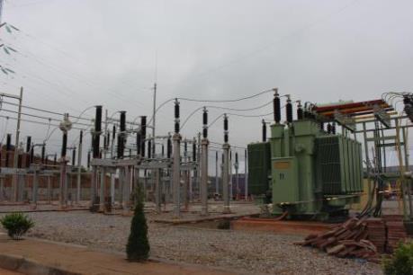 Đóng điện trạm biến áp 110kV Khu công nghiệp Long Bình An