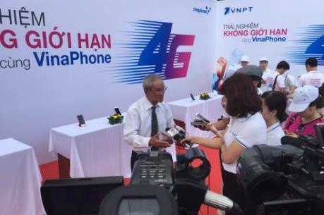 Vinaphone triển khai thử nghiệm dịch vụ 4G