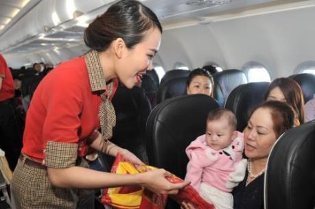 Vietjet Air khai trương 3 đường bay mới