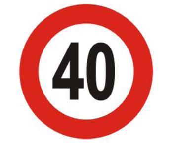 Trước 30/1 phải rà soát, điều chỉnh xong biển hạn chế tốc độ dưới 50km/h
