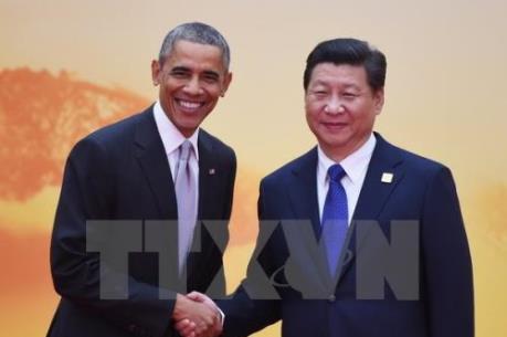 Hợp tác kinh tế Mỹ - Trung tiến triển tốt trong năm 2015