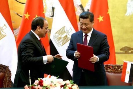 Ai Cập và Trung Quốc sẽ ký các thỏa thuận kinh tế hàng tỷ USD