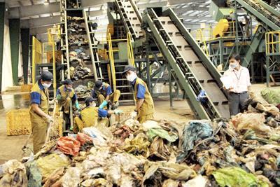 Bến Tre xây nhà máy xử lý rác thải bằng công nghệ sinh học
