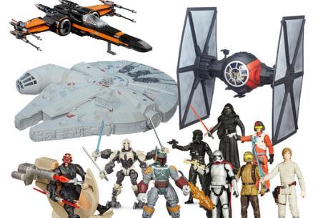 """""""Star Wars"""" thống trị thị trường đồ chơi Mỹ"""